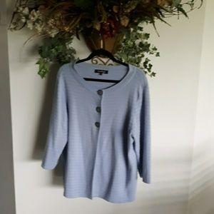Evan Picone Sweater 1X
